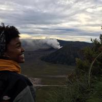 The view of Mt. Bromo from King Kong Hill